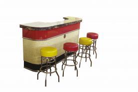 Emplacement Comptoir - Bar des années 50 (fifties)