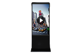 Emplacement Totem vidéo 42-46 pouce - borne interactive grand écran