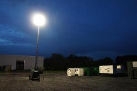 Emplacement Towerlight - tour d'éclairage mobile sur remorque