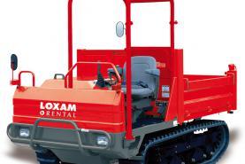 Emplacement Transporteur sur chenilles 2500kg