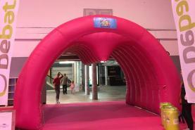 Emplacement Tunnel of Love gonflable - décoration pour événement