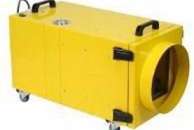 Emplacement Extracteur d'air - Caisson de filtration type CFS50 et CFS 50HEPA