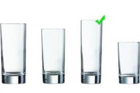 Emplacement Verre long drink 22cl – 49 pc - Vaisselle - Matériel traiteur