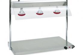 Emplacement Chauffe-mets électriques 3 lampes Infra-Rouge en location pour vos événements, foires, salons, réceptions...