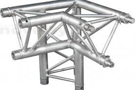 Emplacement Structure Prolyte Angle C012 (3 ways) pour scènes, podiums