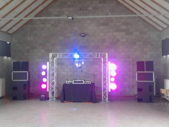 Location Kit d'éclairage pour soirées, disc-jockey, bal