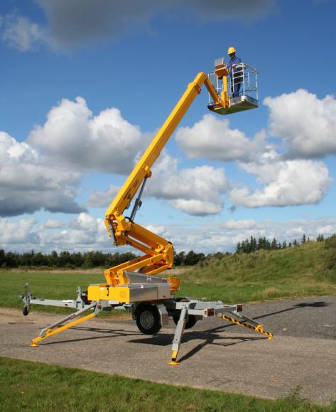 Location nacelle tractable omme 1550 EBZX articulée