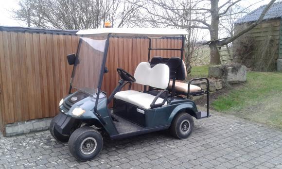 Location Véhicules électriques - voiturettes  pour transporter 3 personnes + chauffeur