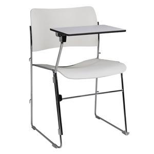 Location Chaise blanche college - Mobilier de bureau - Moyenne et longue durée, min. 1 MOIS