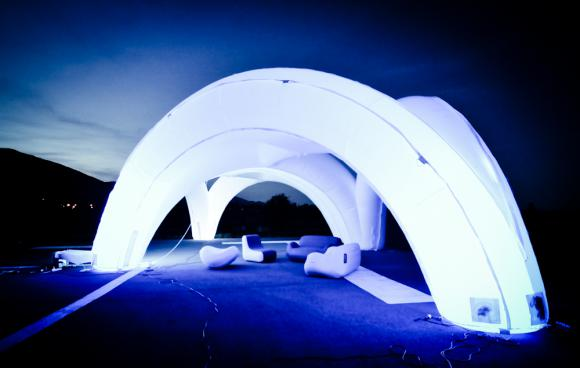 Location Arcadome gonflable - Décorations gonflables - Arches lumineuses