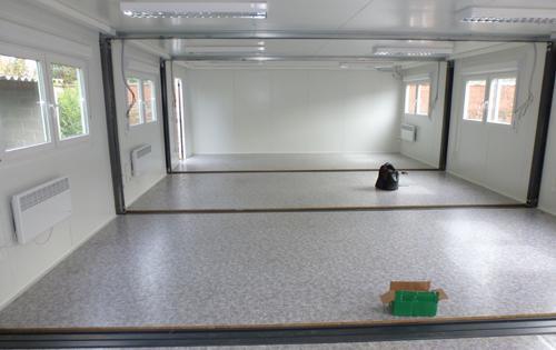 Location modules bureaux de chantier construction for Construction container belgique