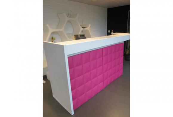 Location Comptoir - Bar Bolly rose - Bar Karim jaune