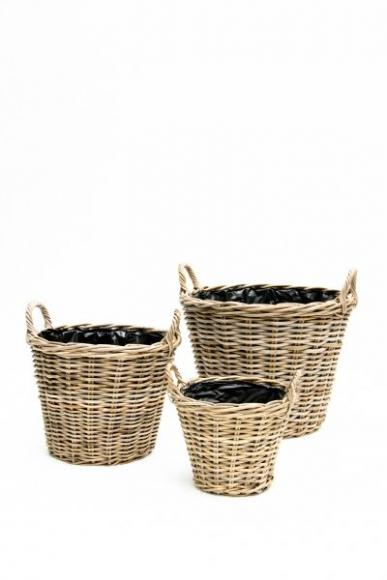 location cache pot en osier 40 cm pour plantes louer. Black Bedroom Furniture Sets. Home Design Ideas