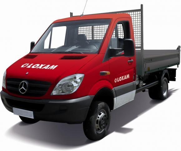 location camion benne simple cabine charge utile louer sur rentiteasy. Black Bedroom Furniture Sets. Home Design Ideas
