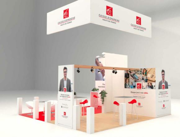 Location Stand d'exposition - Montage pour salons et foires