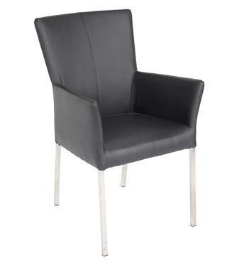 Location Chaise Athen noir - Mobilier de bureau