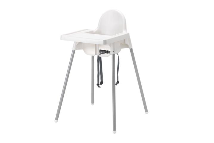 Location Chaises hautes blanches en location - chaises hautes pour enfants - mobiliers pour vos événements, foires, salons...