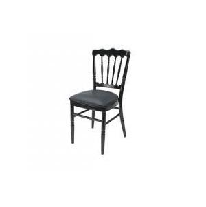 Location chaise napol on noire mobilier louer sur rentiteasy - Location chaise napoleon ...