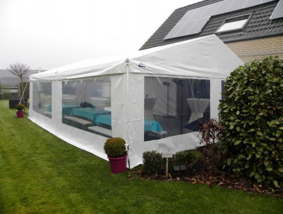 Location Chapiteau 6x8 mètres - Tente - Tonnelle - Espace de réception avec vitres