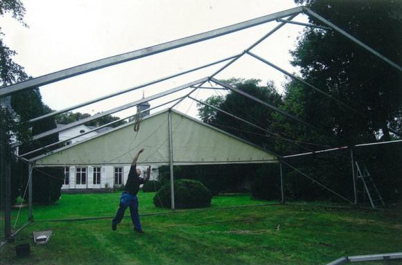 Location Chapiteau 6m x15m modulable