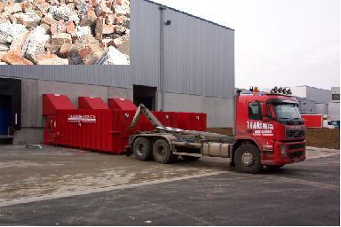 Location Container pour briquaillons - Conteneur de transport - Benne 8m³, 10m³, 12m³, 15m³, 20m³, 30m³ & 45m³ en location en location