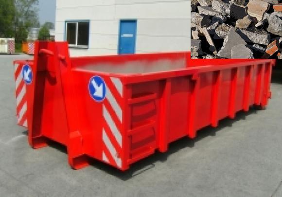 location container conteneur pour transport de briques bricaillons 8m 10m 12m 15m. Black Bedroom Furniture Sets. Home Design Ideas