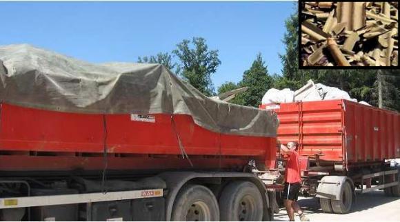 Location Container - conteneur 8m³, 10m³, 12m³, 15m³, 20m³, 30m³ & 45m³ - Transport de papiers/cartons