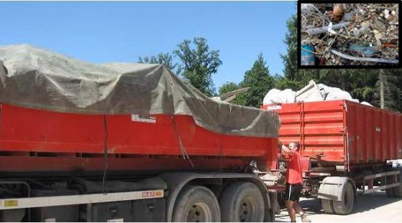 Location Container - conteneur 8m³, 10m³, 12m³, 15m³, 20m³, 30m³ & 45m³ - mélange déchets tout-venant