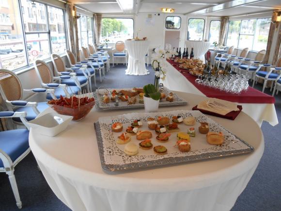 Location Bateaux - Salles pour réceptions, mariages, événements privés ou professionnels