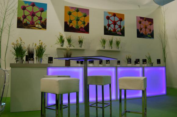 location stand modulaire octa stand commercial pour salon foire v nement avec cloisons