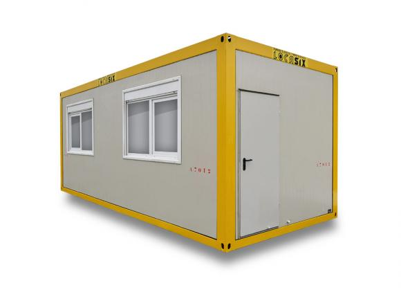 Location container bureau conteneurs modulaires a7 7m for Location container habitable