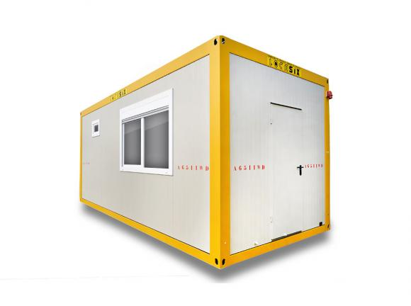 Location container bureau conteneurs modulaires awd 6m for Location container habitable