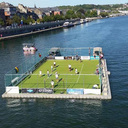 Location Terrasse flottante modulaire - Îlot - Plateforme - Ponton