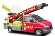 Location Lift électrique - monte meuble - nacelle - élévateur à Liège