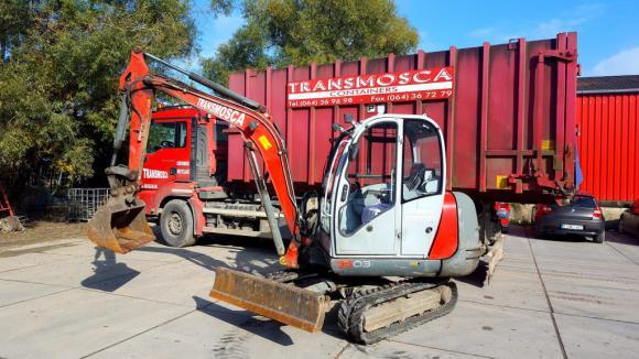 Location Mini pelle 1500kg/1,5t - Pelles de chantier - Avec ou sans opérateur