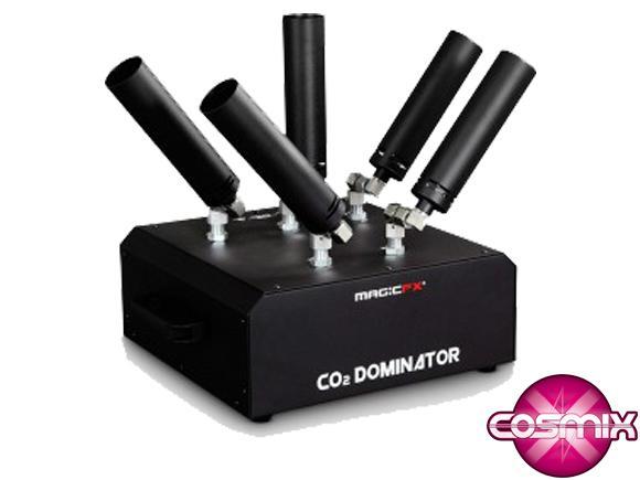 Location Canon à fumée - Co2 Dominator - Fumigène - 5 canons - MagicFX