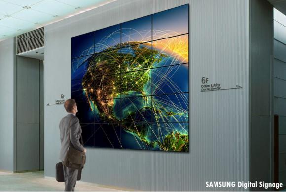 Location Mur d'écrans - videowall 2m², 4m2, 6m²,...