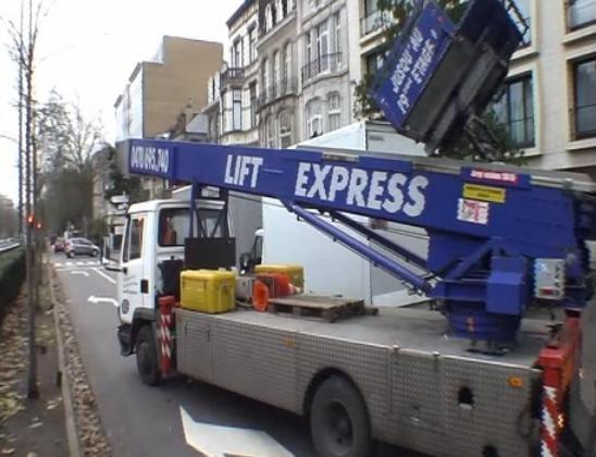 Location Lift déménagement - Monte meuble - Nacelle