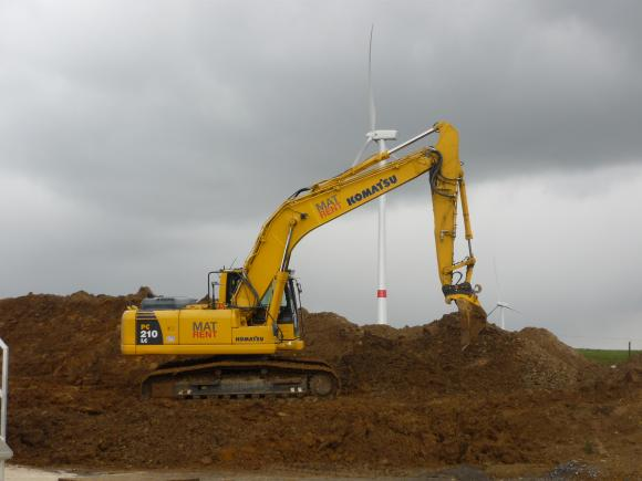 Location Pelle hydraulique sur chenilles – Pelleteuse - Excavatrice