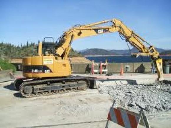 Location Pelles sur chenilles - Machines de chantier - Excavatrice
