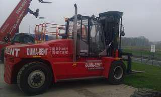 Location Chariots de gros tonnage pour manutention de marchandises - Déplacement, chargement, rangement - Machine pour entrepôts