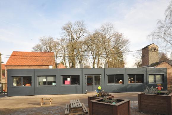 Location Containers modulaires pour écoles - Salles de cours, réfectoires, bureaux - Bungalows - Modules