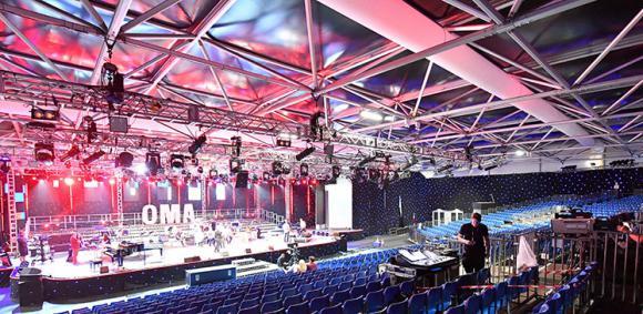 Location Salles de concert toutes tailles provisoires - Structures démontables pour événements