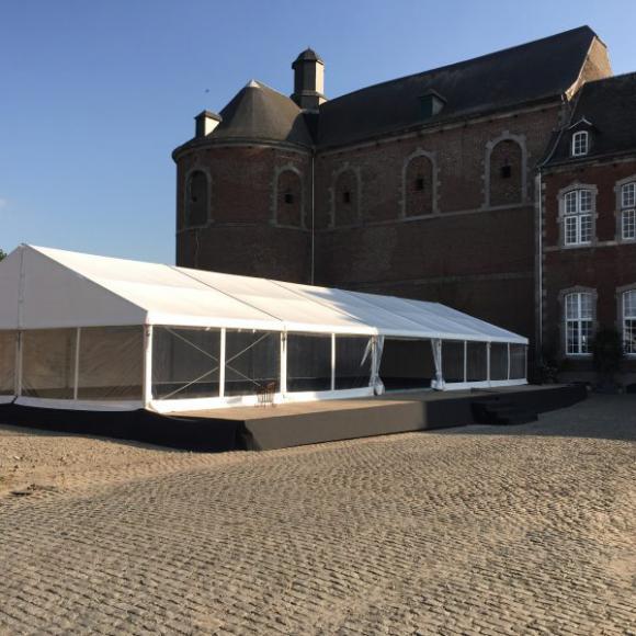 Location Tente 10x25m – 250m² - Chapiteau - Pagode - Tonelle