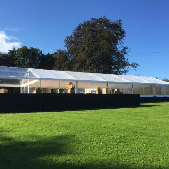 Location Tente 10x30m – 300m² - Chapiteau - Pagode - Tonelle