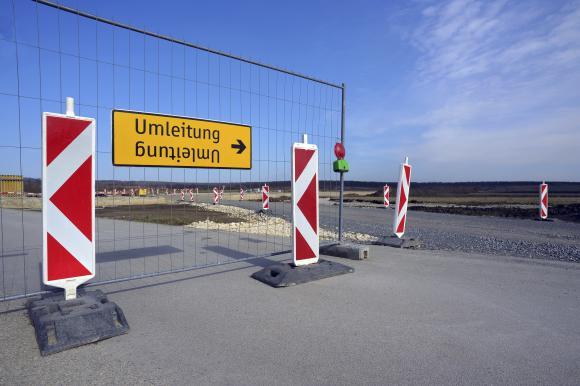 Location Barrières de chantier type Heras - clôtures de protection