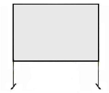 Location Toile de projection Fast Fold 240x180cm - Ecran de projection - Vidéoprojecteur